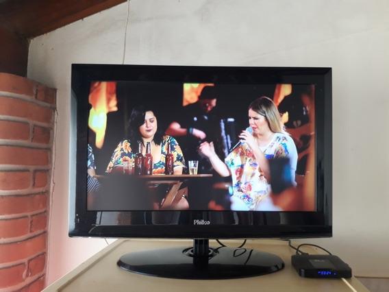 Tv E Monitor Philco Modelo Tv Ph24a Lcd