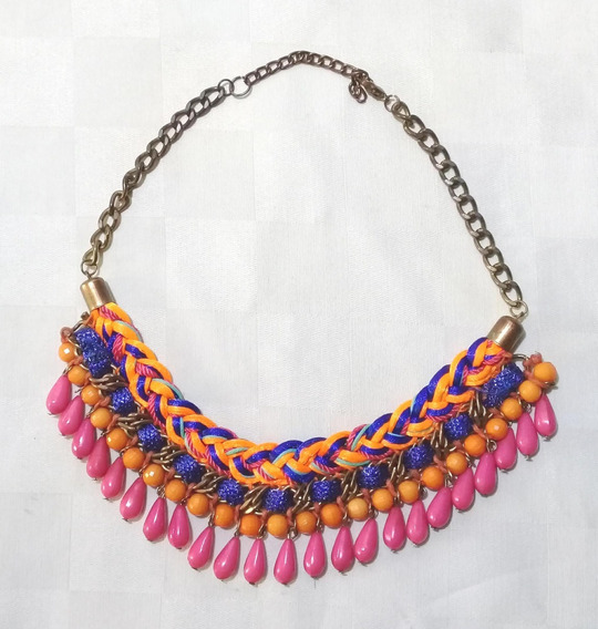 169 Collar Rosa Multicolor