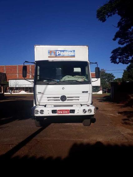 Caminhão Mercedes 1318 Truck, Com Baú, Ano 2004