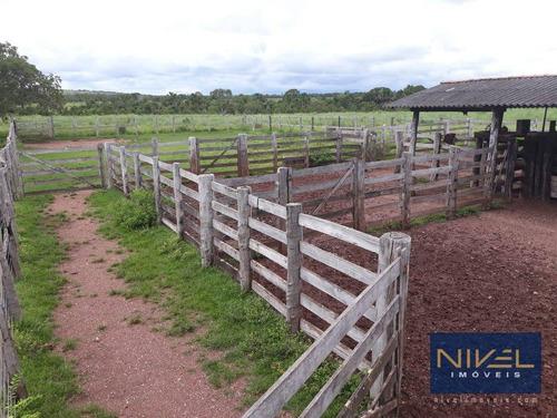 Fazenda À Venda, 100 Alqueires Por R$ 6.000.000 - Zona Rural - Pium/to - Fa0003