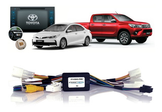 Interface Desbloqueio Tela Corolla Hilux 2015 2016 2017 2018
