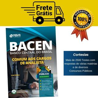 Apostila Comum Aos Cargos De Analista Concurso Bacen