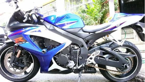 Suzuki Gsx-r 750 Srad 08 Azul
