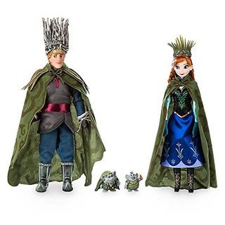 Disney Anna, Kristoff Y Trolls Set - Frozen