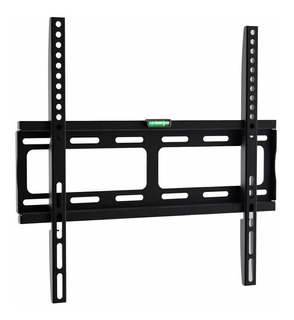 Soporte Tv Lcd Fijo Chato Slim 2cm 60 52 50 46 43 42 40 37 32 Pulgadas Fijo Led Smart Tv 35kg + Kit Instalación Completo