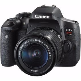 Canon Eos Rebel T6i 24.2 Mp C/ Obj 18-55m