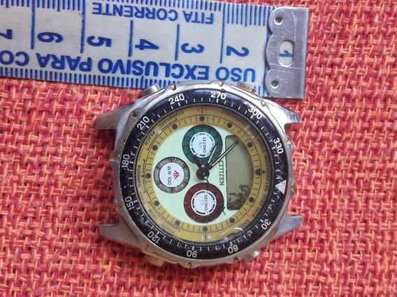 Relógio Antigo Citizen C050 Promaster No Estado Leia Descriç