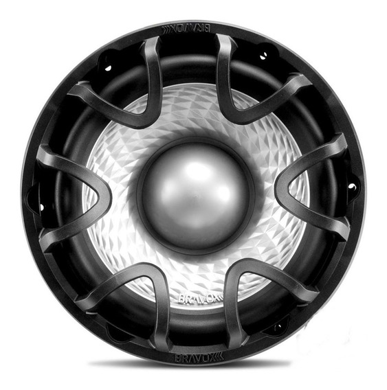 Subwoofer 12 Polegadas Bravox Peito De Moça 12d4 500w Rms