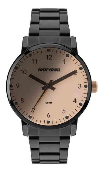 Relógio Mormaii Feminino Mo2035je/4j Preto Analogico