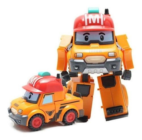 Imagen 1 de 2 de Robocar Poli Mark Vehículo Transformable 83307