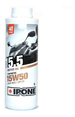Imagen 1 de 4 de Aceite Moto Ipone 15w50 Synthetic Frances Motoscba
