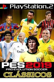 Pes 2019 Cássicos, Jogo Ps2.