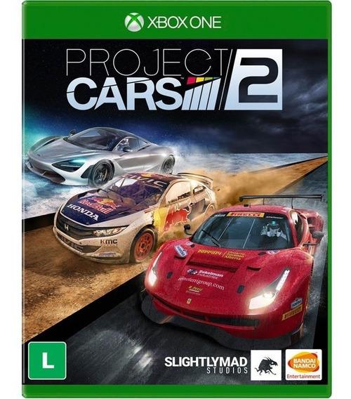 Project Cars 2 Xbox One Mídia Física Cd Original Lacrado