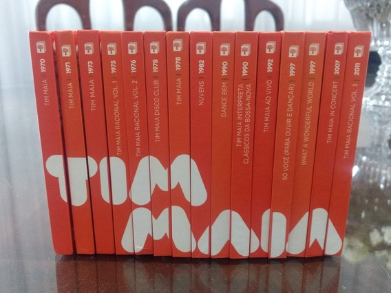 Coleção Abril Cds Tim Maia - Incluindo Racional Volume 3