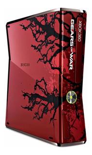 Solamente Consola Xbox 360 Slim Nueva Gears Of War Blakhelme