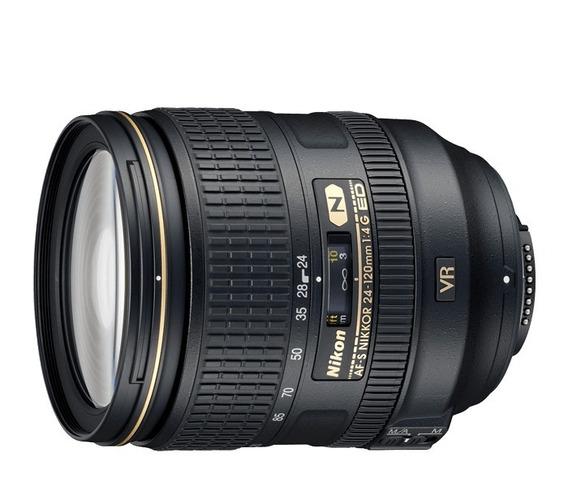 Lente Nikon 24-120mm F/4g Ed Vr Af-s - Garantia