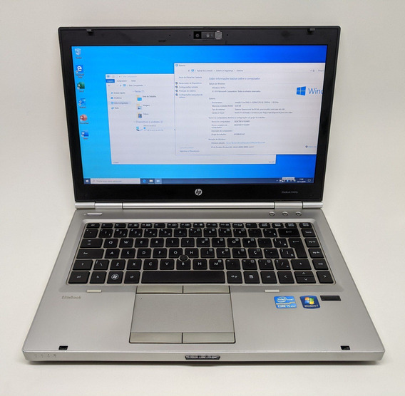 Notebook Hp Elitebook 8460p I5 2520m 4gb 500gb Tela 14 C/ Nf