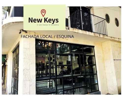 Traspaso (no Es Venta) Y Además Renta, Local Comercial En Esquina En Polanco