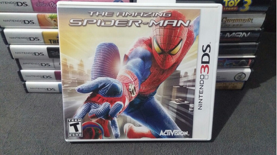 Spiderman The Amazing Spider-man Nintendo 3ds Original Compl