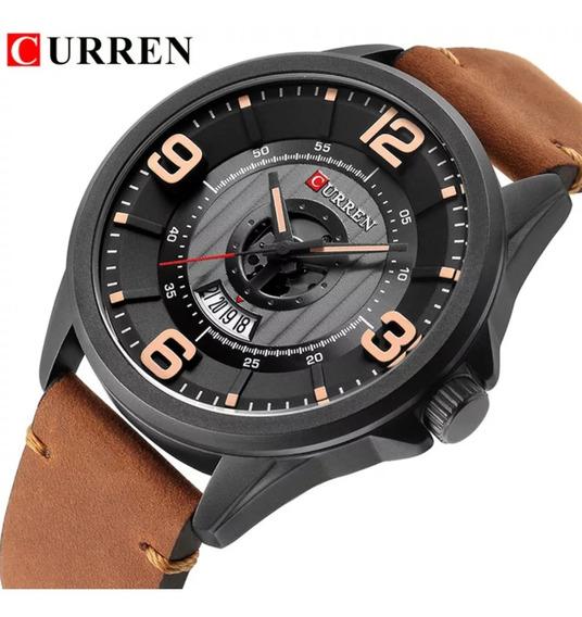 Reloj Militar Análogo Curren, Fechador,impermeable