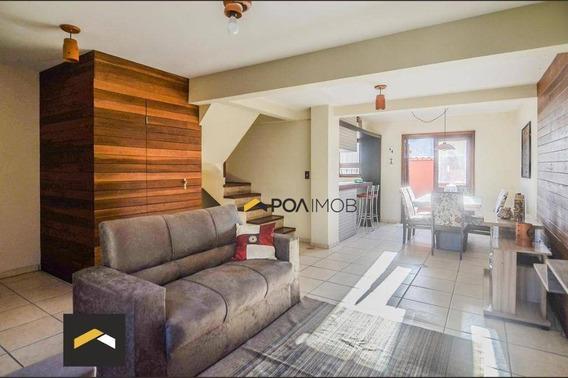 Casa Com 4 Dormitórios Para Alugar, 140 M² Por R$ 3.000,00/mês - Nonoai - Porto Alegre/rs - Ca0809