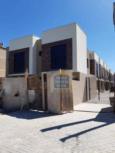 Sobrado Com 2 Dormitórios À Venda, 45 M² Por R$ 220.000,00 - Alto Boqueirão - Curitiba/pr - So0306