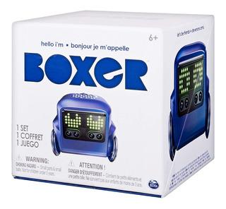 Robot Boxer Negro Y Azul Nuevo Sellado Envío Gratis 18msi