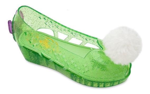 Tinkerbell Hada Zapatos Talla 11-12 Disfraz Disney Store