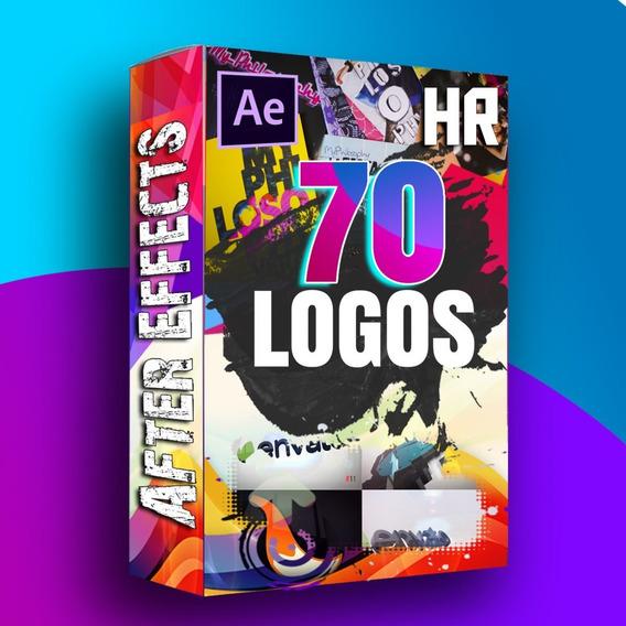 70 Quick Logo Template Editável After Effects Logo Rápido