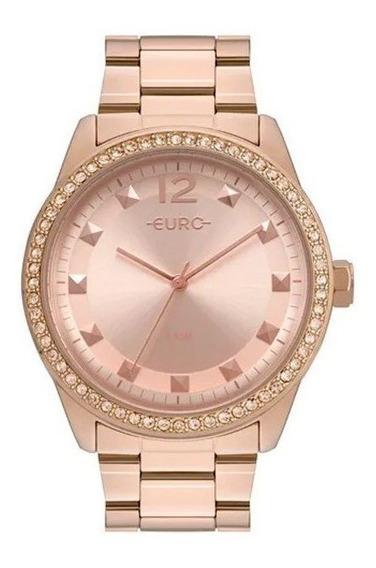 Relógio Euro Feminino Construções Rosê Eu2035yrm/4j