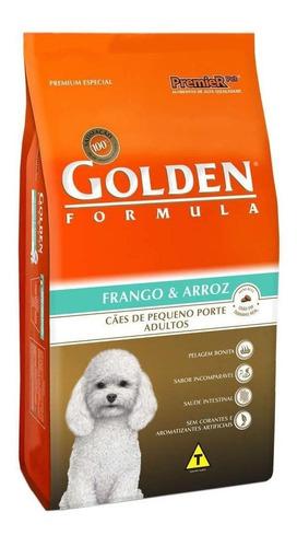 Ração Golden Premium Especial Formula para cachorro adulto da raça pequena sabor frango/arroz em saco de 15kg