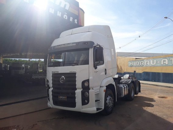Vw 25390 Constellation 6x2 Ano 2014 Completo Teto Alto