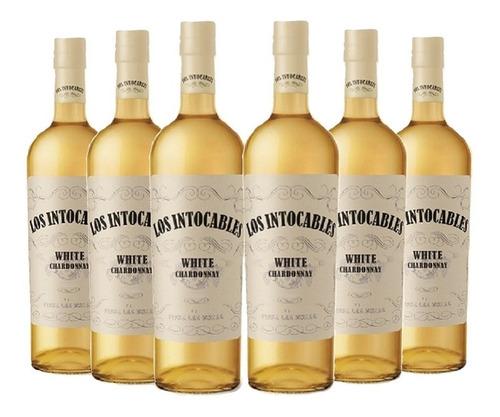 Imagen 1 de 10 de Los Intocables Chardonnay . Vino . 750ml X6 - Tomate Algo® -