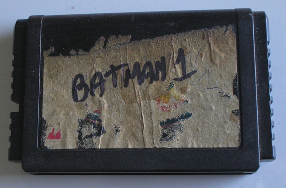 Batman The Game Japonesa Mega Drive Usada Sem Label Testada