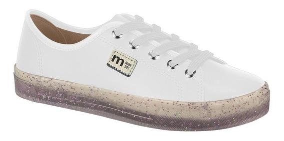 Tênis Feminino Moleca Casual Napa Flatform Glitter 5672200