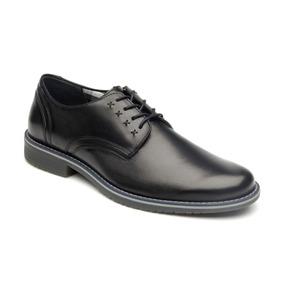 Calzado Zapato Flexi 92401 Negro Casual Oficina Vestir Salir