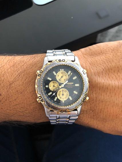 Relógio Citizem Wr100 Com Problema No Circuito(consome Bat)