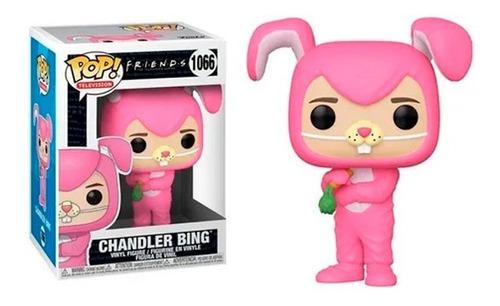 Funko Pop Chandler Bing 1066 Coelho Friends - Envio Imediato