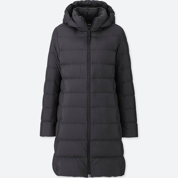 Tapado Uniqlo Ultra Light Down Coat Negro Xxl Capucha Desmon