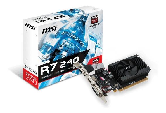 Tarjeta Gráfica (video Card) 2gb Ddr3 Nvidia / Amd Radeon