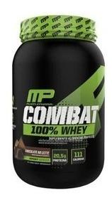 Whey Mp Combat 100% 907g Chocolate