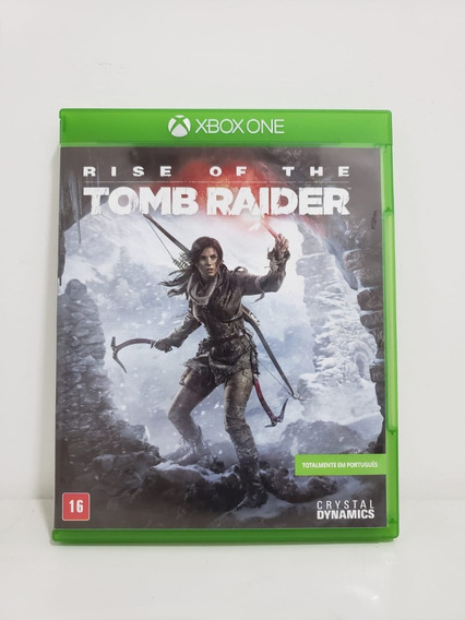 Rise Of The Tomb Raider Xbox One Mídia Física-seminovo