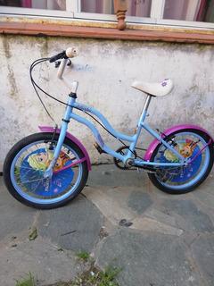 Bicicleta Nena Frozen Rodado 16 Original