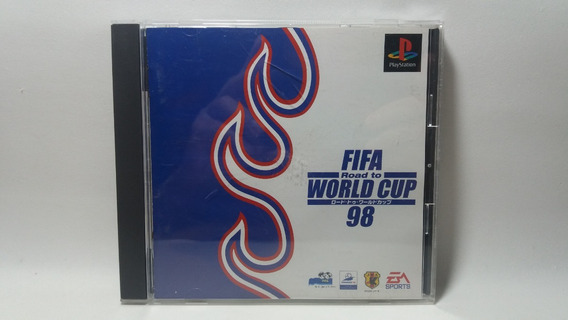 Fifa Road To World Cup 98 - Ps1 - Original Japonês
