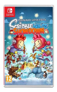 Scribblenauts Showdown Nintendo Switch Nuevo Sellado