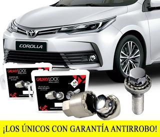 Birlos Seguridad Galaxylock® Toyota Corolla Plus Enviogratis