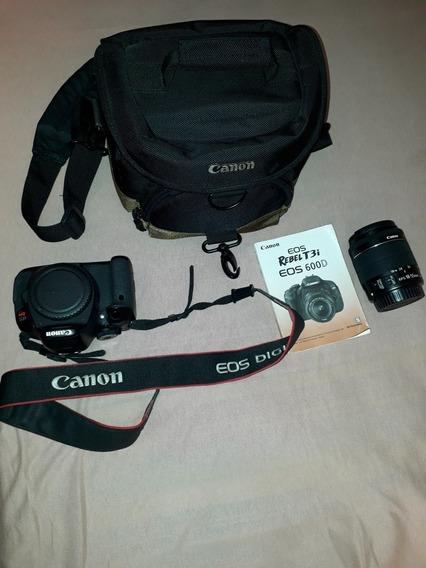 Câmera Canon T3i. Com Bag Luxo