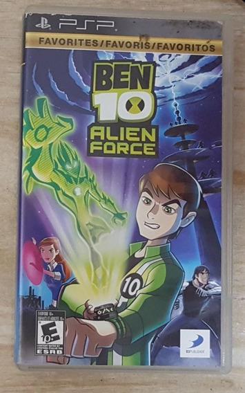 Jogo De Psp Do Ben 10 Alien Force Original