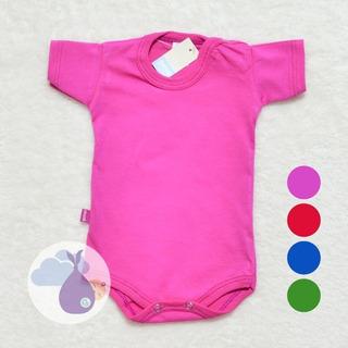 Body De Algodón Liso Colorido Bebé Gamisé Tienda De Ropitas