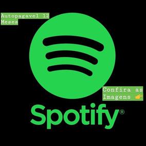 Cartão Presente - 12 Mês Spotify Premium (confira As Imagens